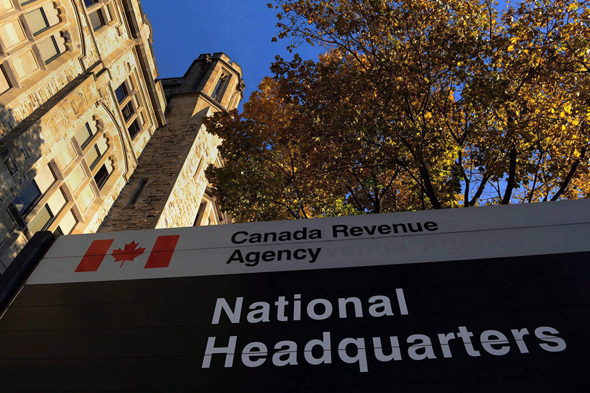 The Canada Revenue Agency headquarters in Ottawa is shown on November 4, 2011. A federal program designed to help low-income Canadians file their taxes has seen an increase in the number of returns in the year after it received a boost in funding. THE CANADIAN PRESS/Sean Kilpatrick