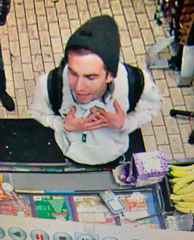 The police would like to find this person after an incident at a convenience store. (Langley RCMP file 2020-111)