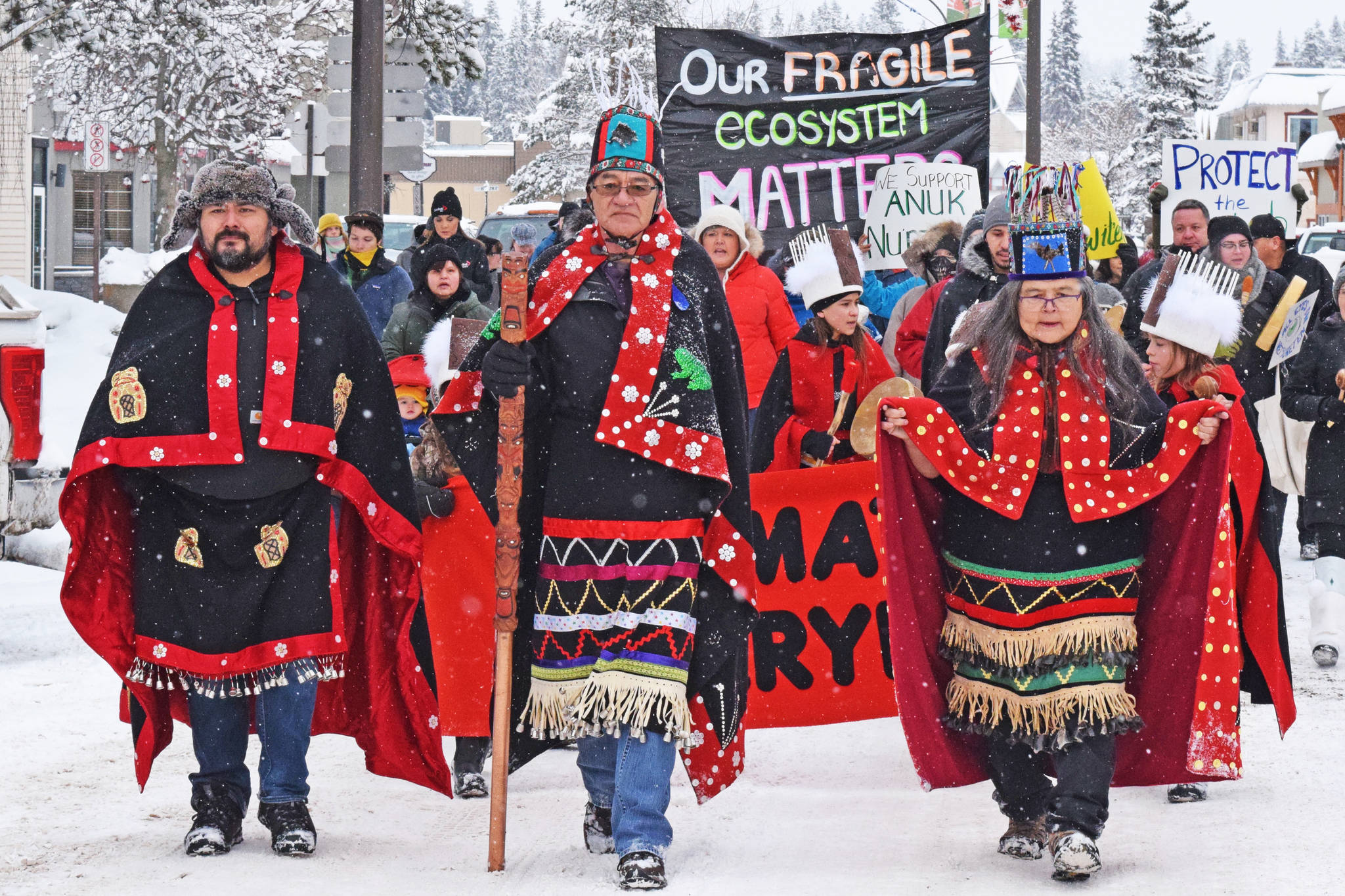Hereditary chiefs ask BC RCMP not to act with force against gas pipeline opponents