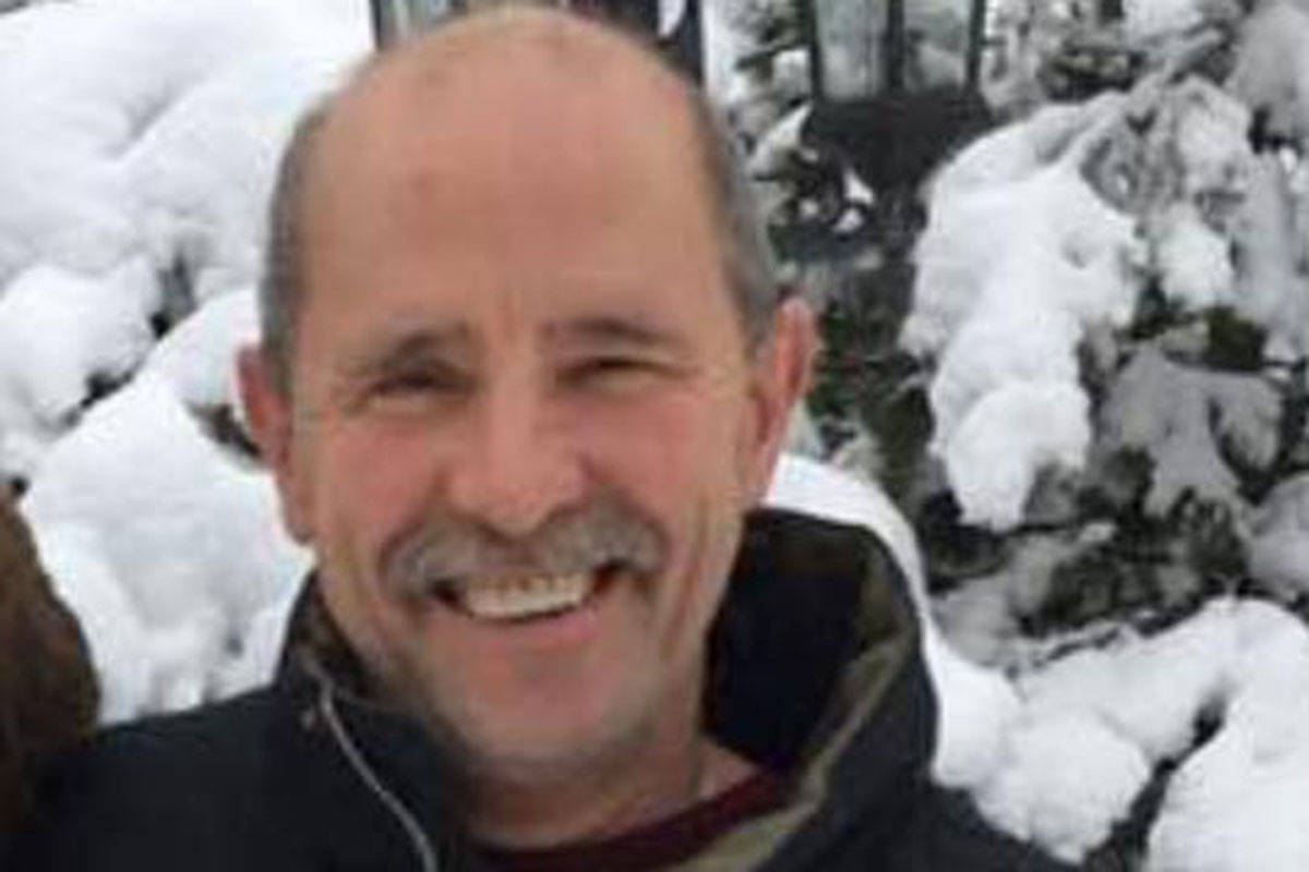 Neil Smith, a 63-year-old Langley resident, has been missing since Jan. 10. (Facebook photo)
