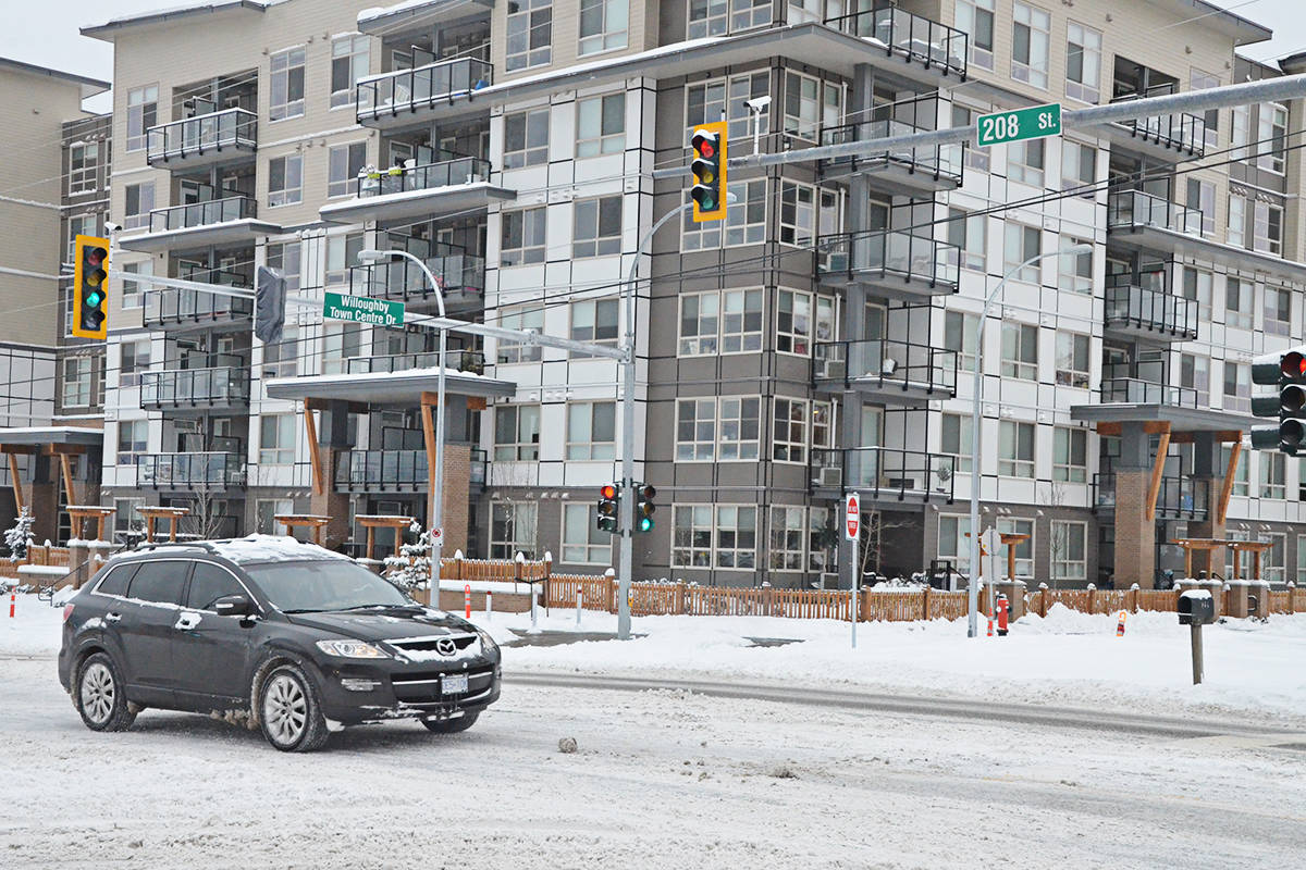Township council will take another look at plans to widen 208th Street and other Willoughby roads. (Matthew Claxton/Langley Advance Times)