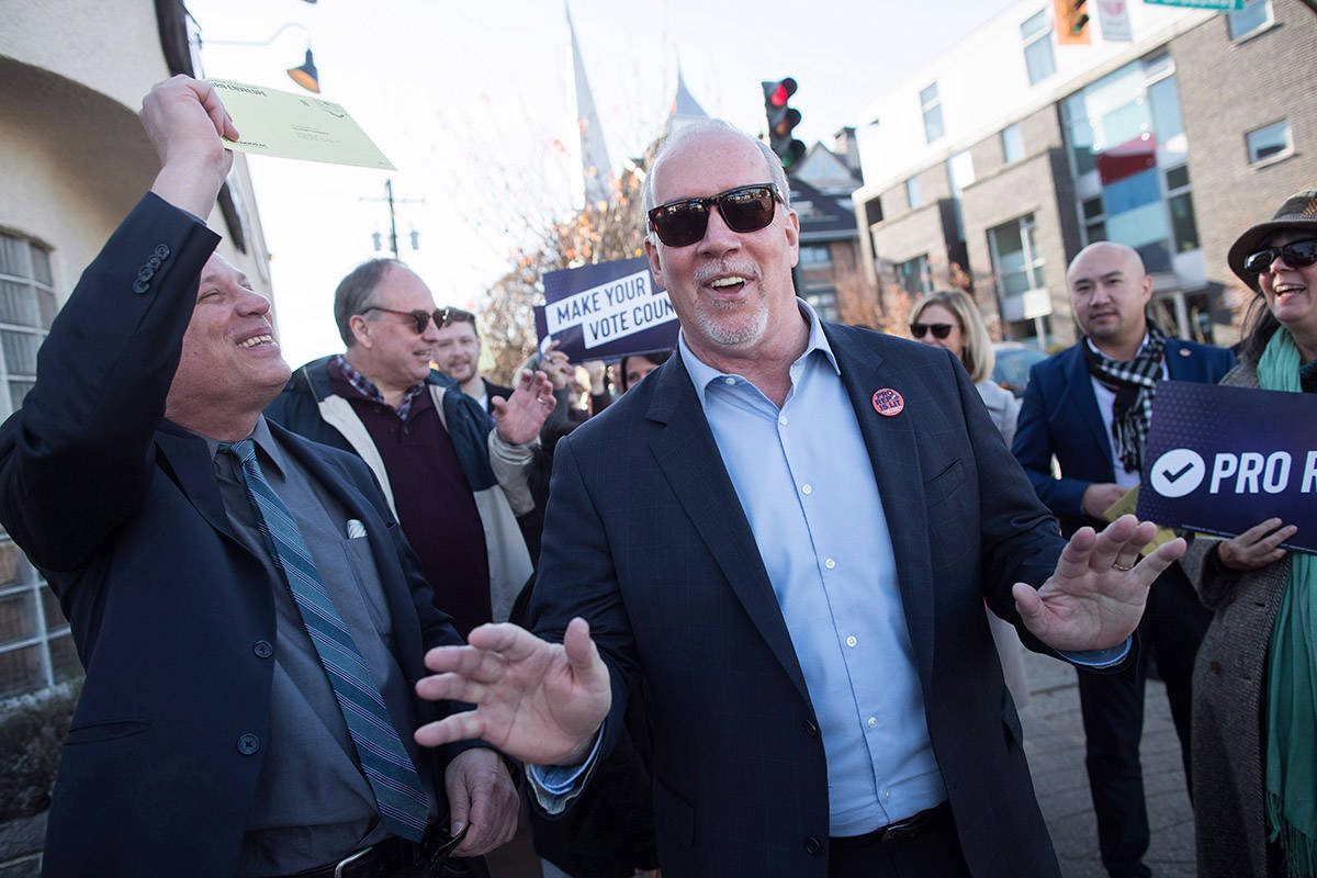 Horgan cancels event in northern B.C. due to security concerns, says Fraser Lake mayor
