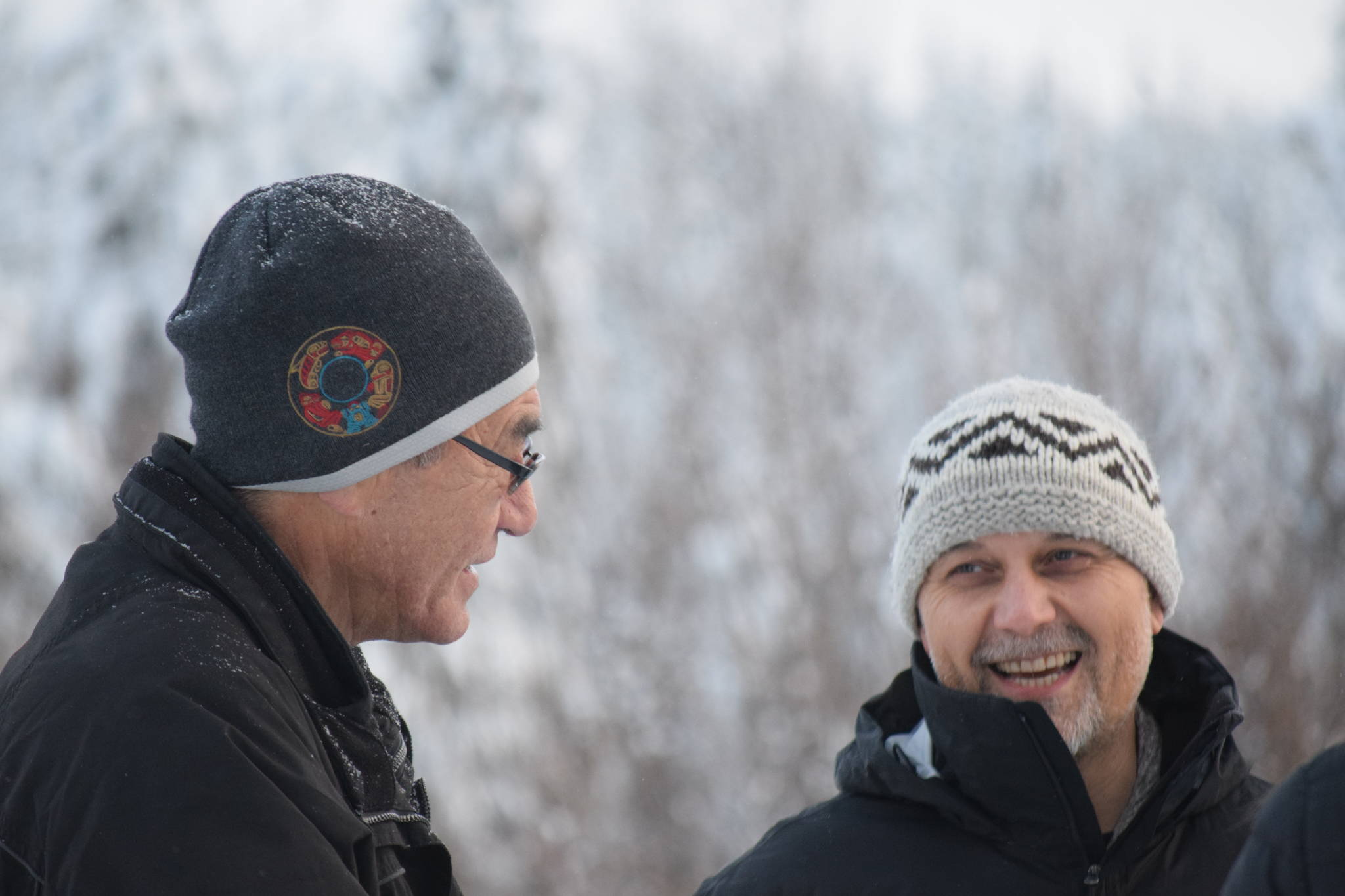 BC Green Party leader visits northern B.C. pipeline protest site