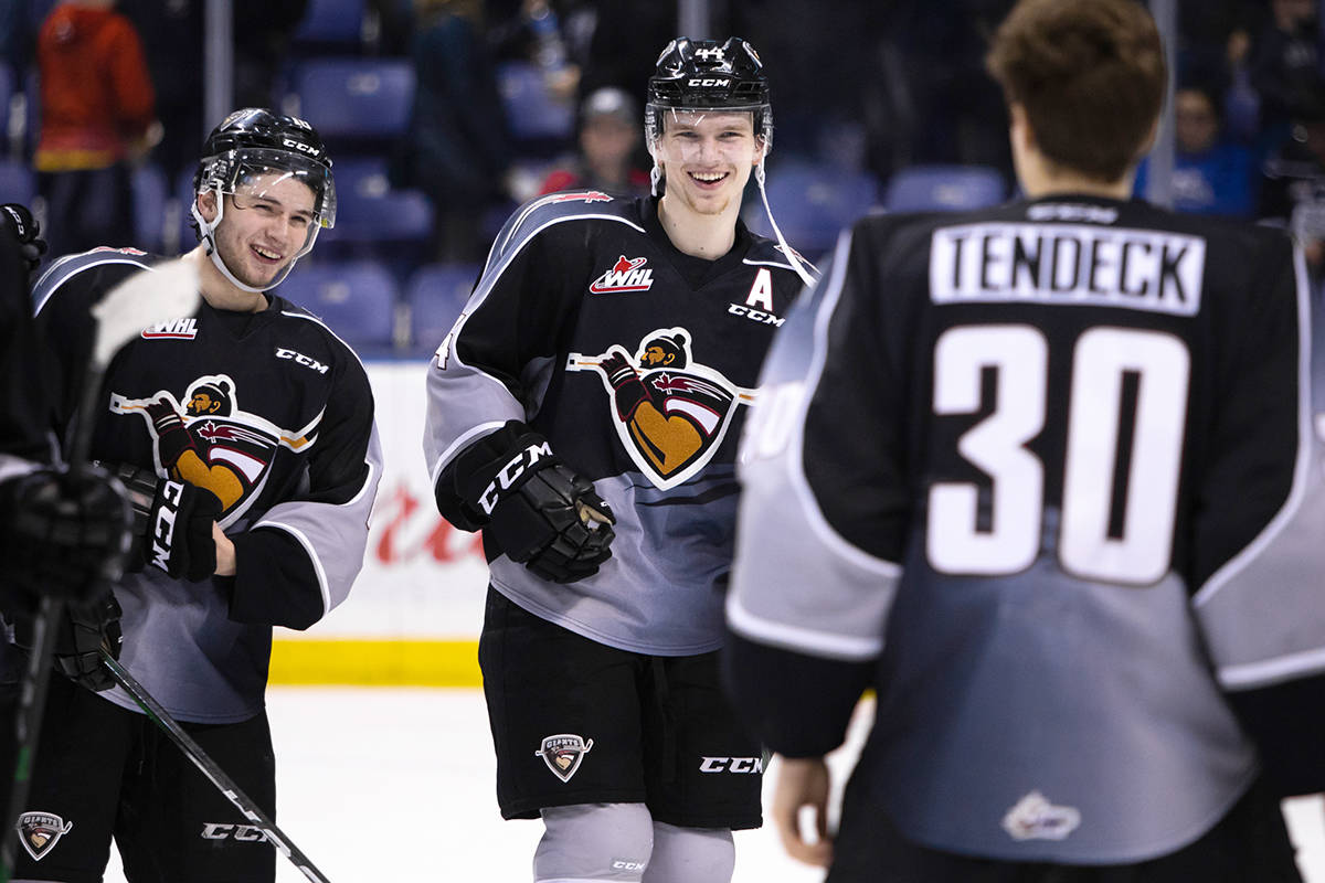 Saturday night (Jan. 19) in Victoria the Giants earned a 6-2 victory over the Victoria Royals (Jay Wallace/special to Langley Advance Times)
