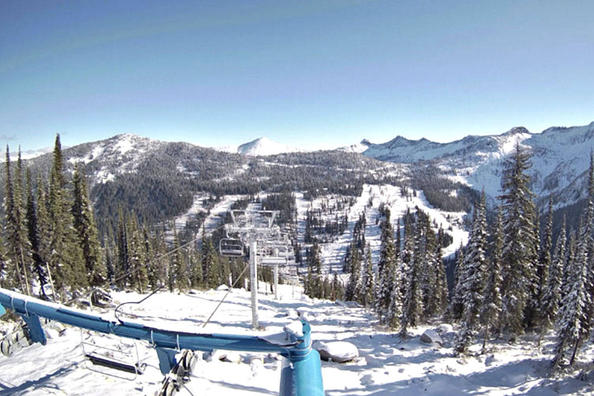 A man has died after being found in the backcountry near Whitewater Ski Resort. File photo