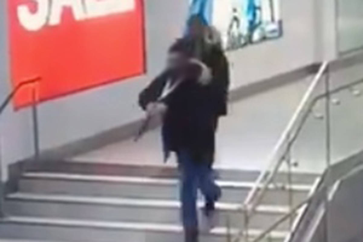 VIDEO: Youth arrested in Langley mall attack