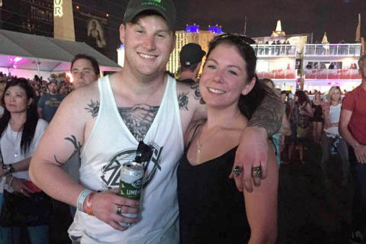 Jordan McIldoon and Amber Bereza, whom he planned to marry. (Black Press Media files)
