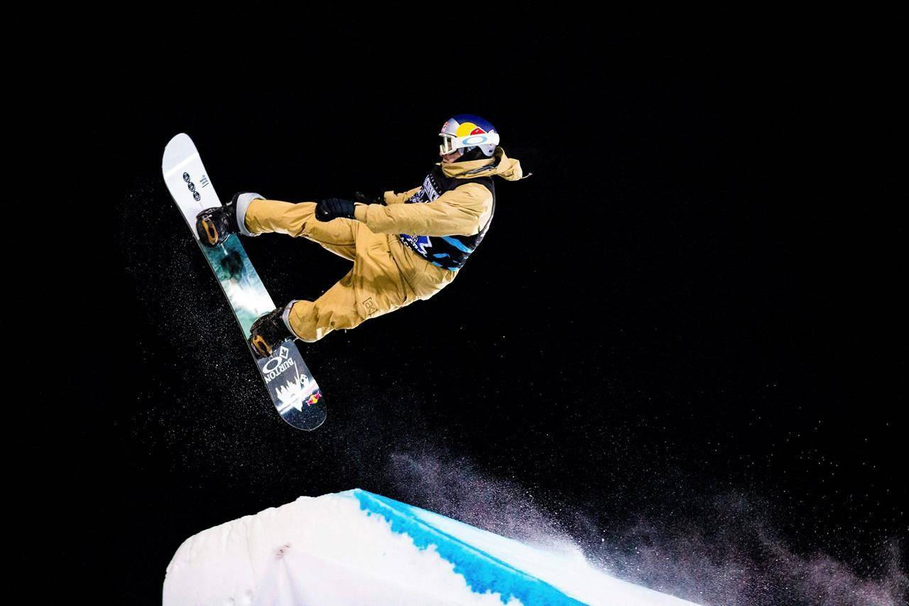 Mark McMorris competes in X Games Aspen's men's snowboard big air final on Saturday, Jan. 25, 2020, at Buttermilk Ski Area in Aspen Snowmass, Colo. He won silver. (Liz Copan/Summit Daily News via AP)