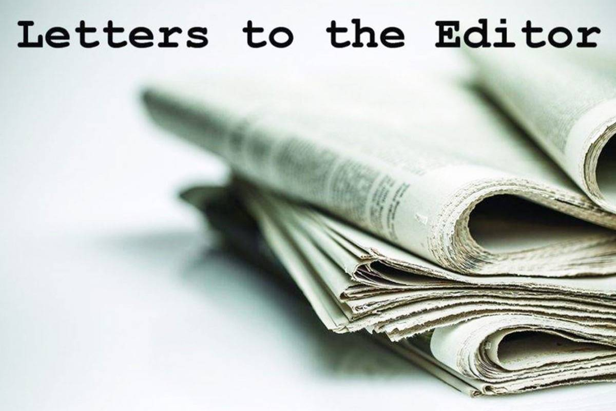 Do you have an opinion you'd like to share. Please send us a letter to the editor, include your first and last name, your address, and your phone number. Email to editor@langleyadvancetimes.com.