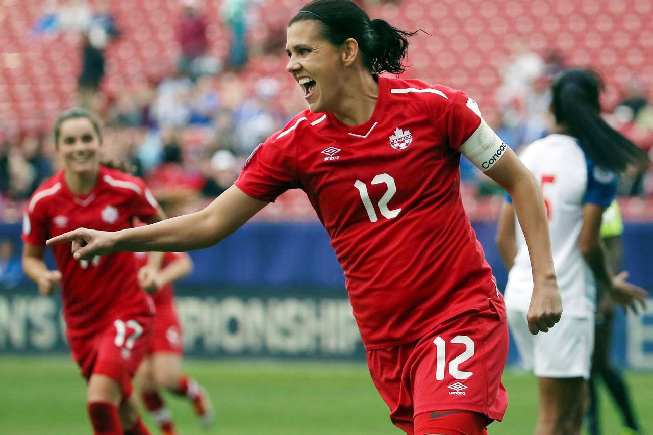 VIDEO: Canada's Christine Sinclair breaks world scoring record with goal No. 185