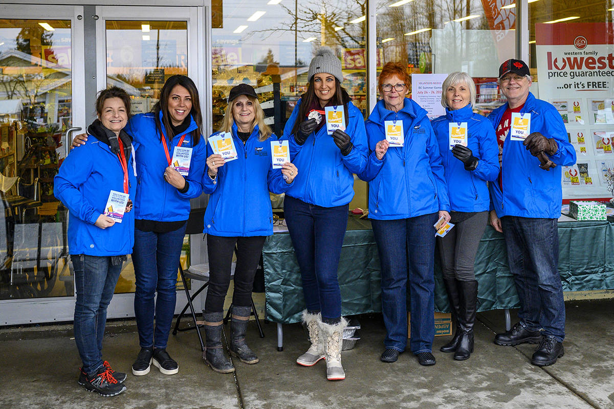 Maple Ridge 2020 BC Summer Games organizers were pumped up start their volunteer drive. (Contributed photo)