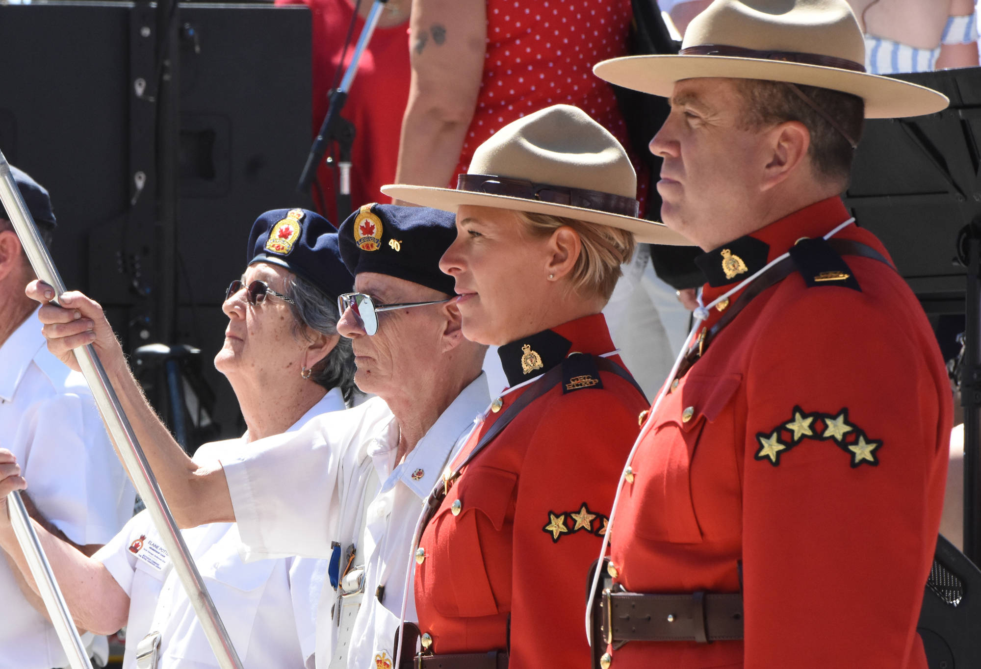 Legion thanks RCMP with free memberships