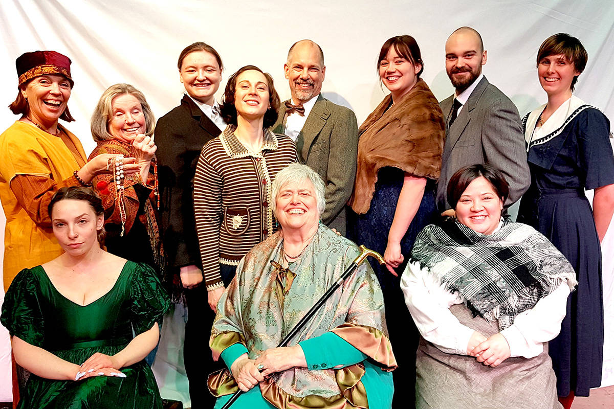 Theatre in the Country presents an Agatha Christie adapation, Murder on the Nile. (Reg Parks/Special to the Langley Advance Times)