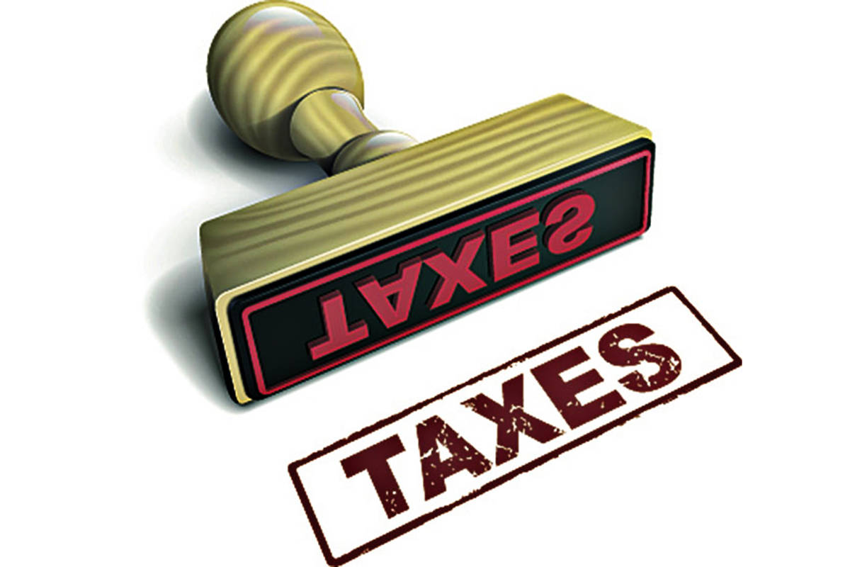 Taxes would be expected to go up in Langley City, if they proceed with a proposed $50-million loan. (Special to the Langley Advance Times)