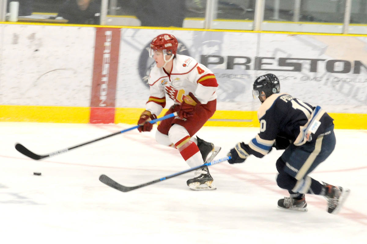 VIDEO: Rivermen earn 3-2 victory against Chilliwack Chiefs at Sunday's game