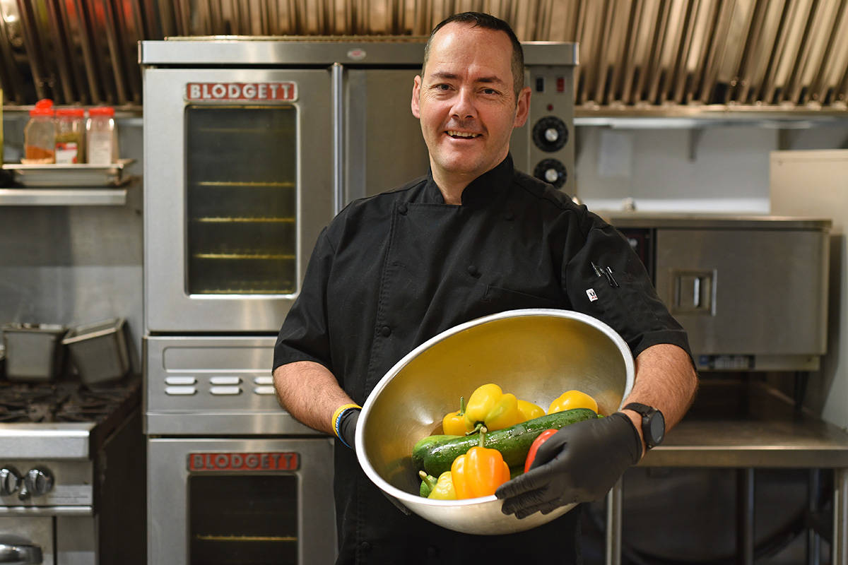 Eating healthy with Chef Todd Rozell