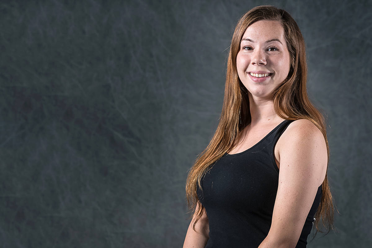 White Rock Gymnastics' Jenna McBain will be recognized for her volunteer efforts at the 2020 Sport BC Awards in March. (Contributed photo)