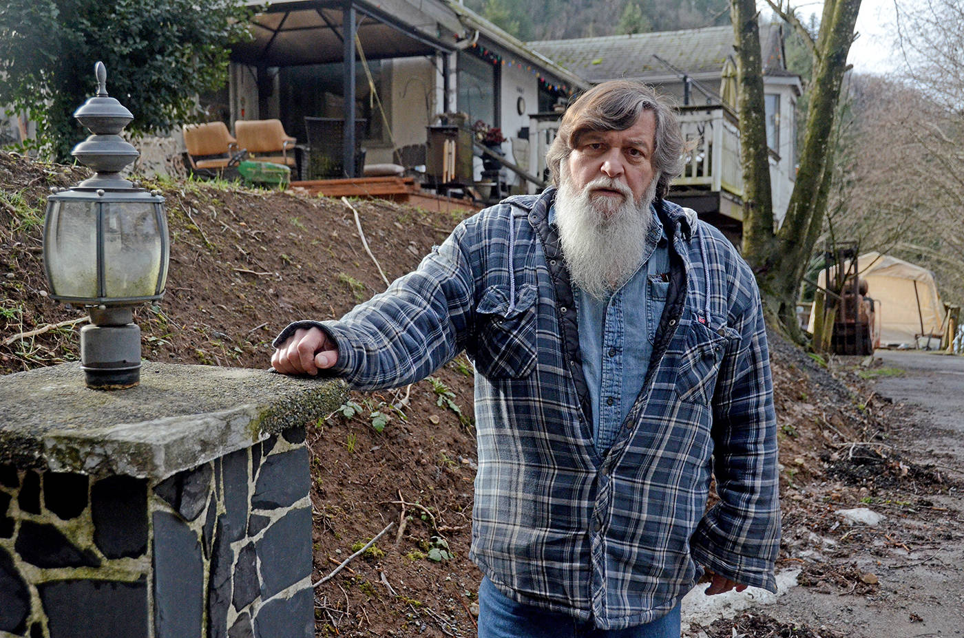 Frank Woodrow's wife Susan suffers from dementia and when the BC Sheriff Service arrested her at their house without telling anyone in the family, it sparked a search by RCMP and Chilliwack Search and Rescue. (Paul Henderson/ The Progress)