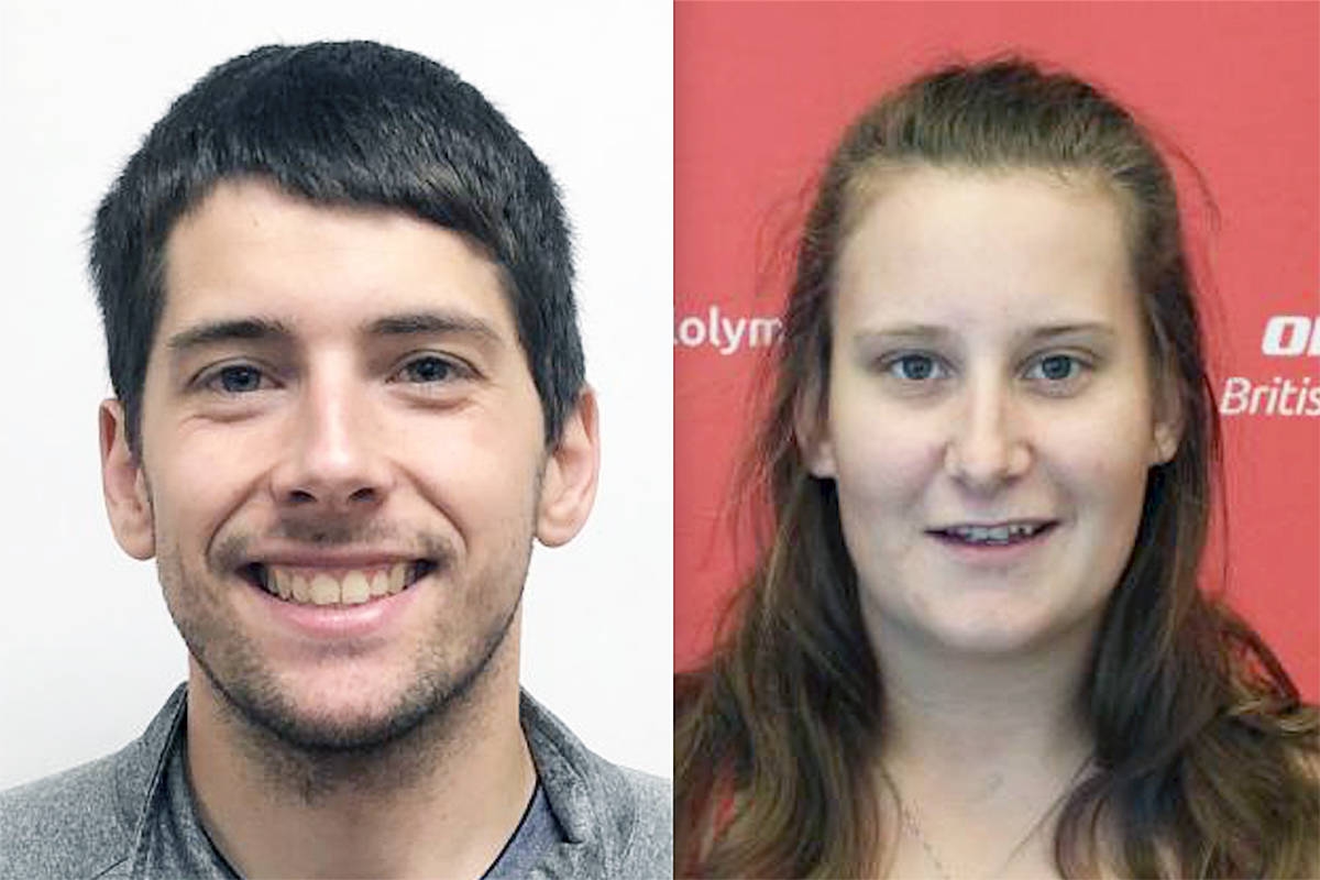 Langley's Matthew Williams and Kailyn Potomak will be competing for B.C. at the Special Olympics Canada Winter Games later this month in Thunder Bay.