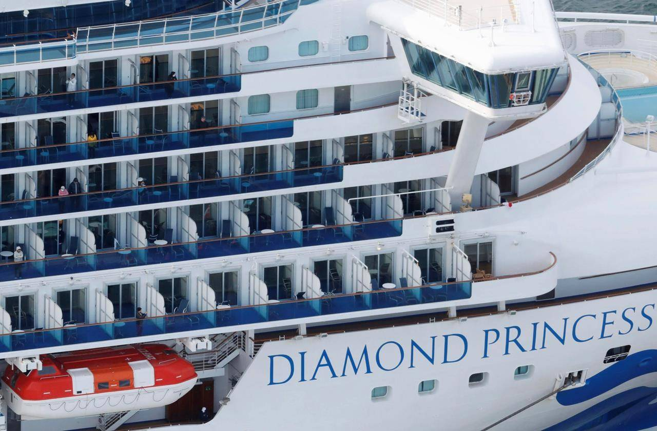 Two Canadians quarantined on cruise ship test positive for Wuhan coronavirus