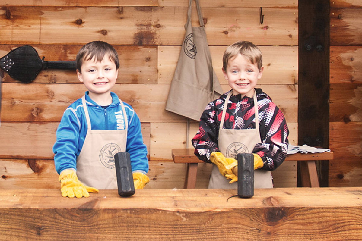 Families encouraged to time travel together at Fort Langley National Historic Site