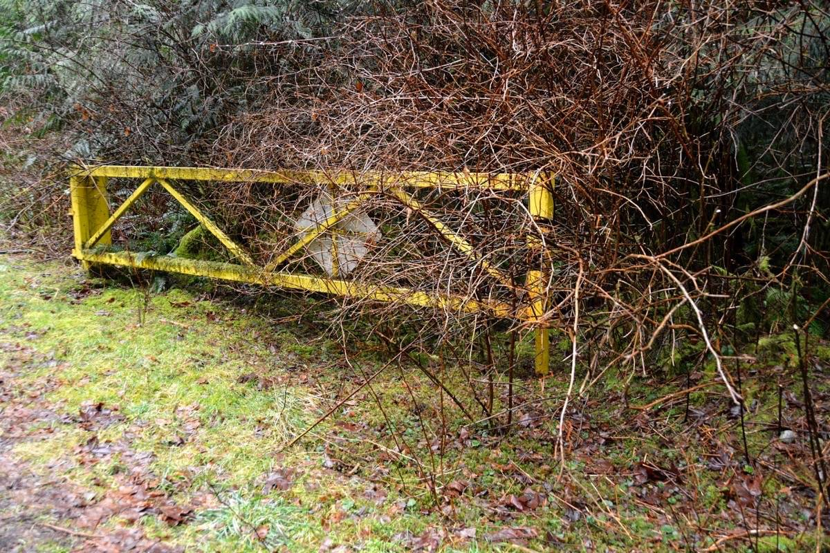 The gates leading to the Sooke Potholes Provincial Park has not been closed in years, according to area residents (Kevin Laird - Black Press Media)