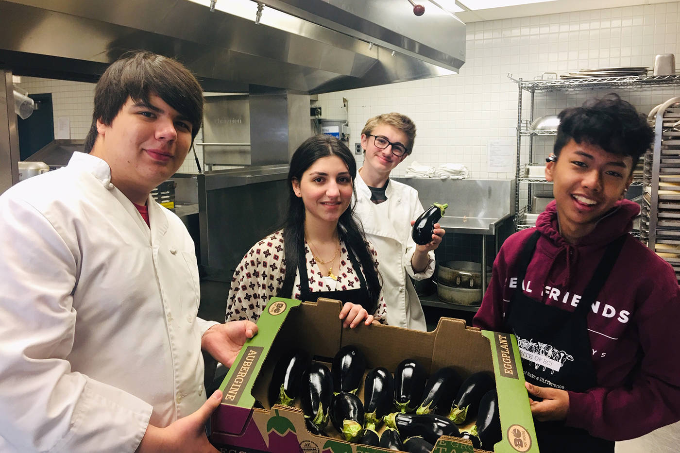 About 30 students from Guildford Park Secondary are heading to the upcoming engAGe event in Vancouver, an event geared towards growing the future of agriculture. (Submitted)