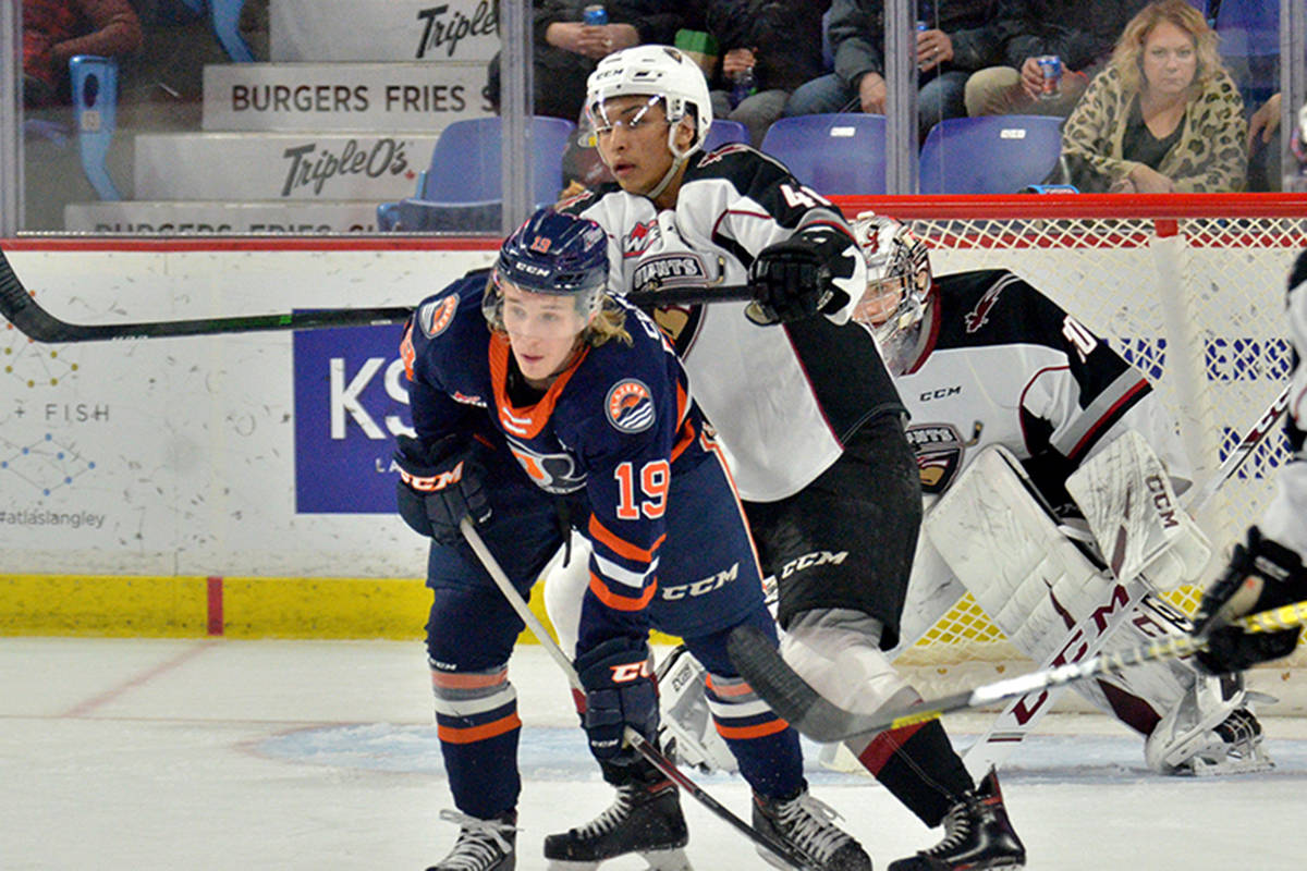 The Vancouver Giants made it seven in a row with a Wednesday evening win. (Gary Ahuja/Special to the Langley Advance Times)