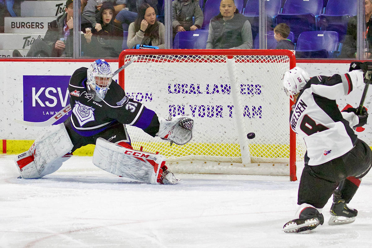 VIDEO: Eighth straight win for Vancouver Giants