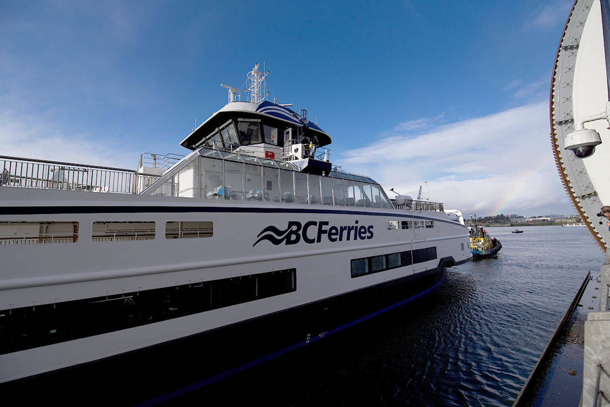 The B.C. Supreme Court granted BC Ferries an injunction on Feb. 14 prohibiting demonstrators from blocking the ferry terminals. (Black Press Media file photo)
