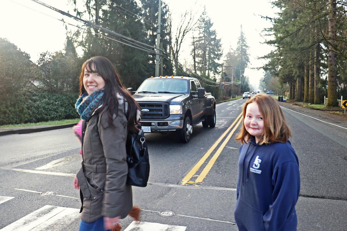 Aldergrove mother struck down in 'terrifying' crosswalk near elementary school