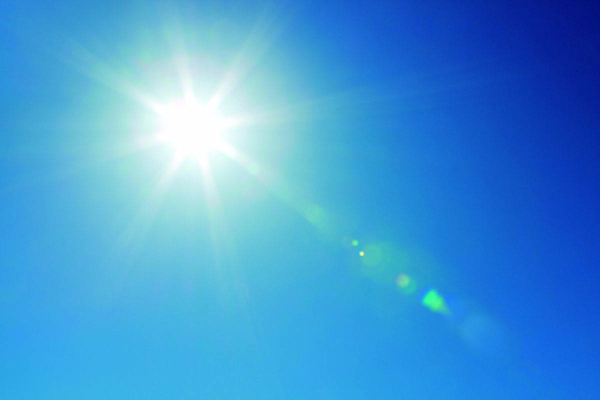 WEATHER: Another sunny day in Langley – Langley Advance Times