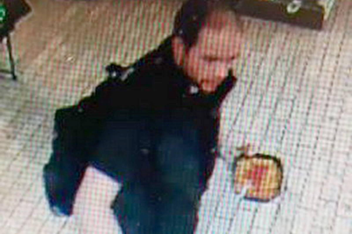 Police say this man used a cab as a getaway vehicle after shoplifting food from a Langley 7-Eleven.