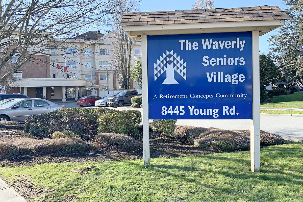 The Waverly Seniors Village in Chilliwack has been deemed a 'high-risk' facility by Fraser Health for ongoing violations of regulations and standards of practice. (Paul Henderson/ The Progress)