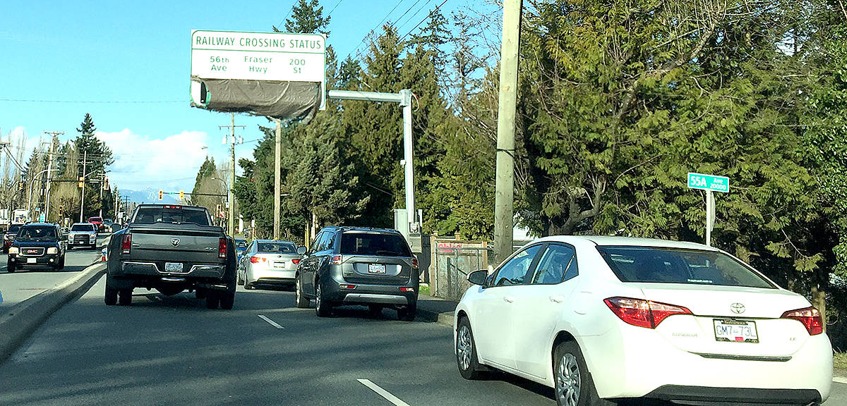 LETTER: Baffled by warning signs in Langley