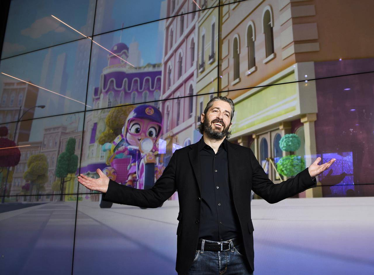 Ronnen Harary, co-founder and co-CEO of the Spin Master toy and entertainment company, poses for a photograph at their office in Toronto on Tuesday, January 29, 2019. THE CANADIAN PRESS/Nathan Denette