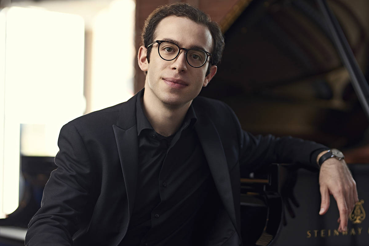 Nicolas Namoradze, a renowned pianist and composer, will play Langley Community Music School on March 7. (Nathan Elson/Special to the Langley Advance Times)
