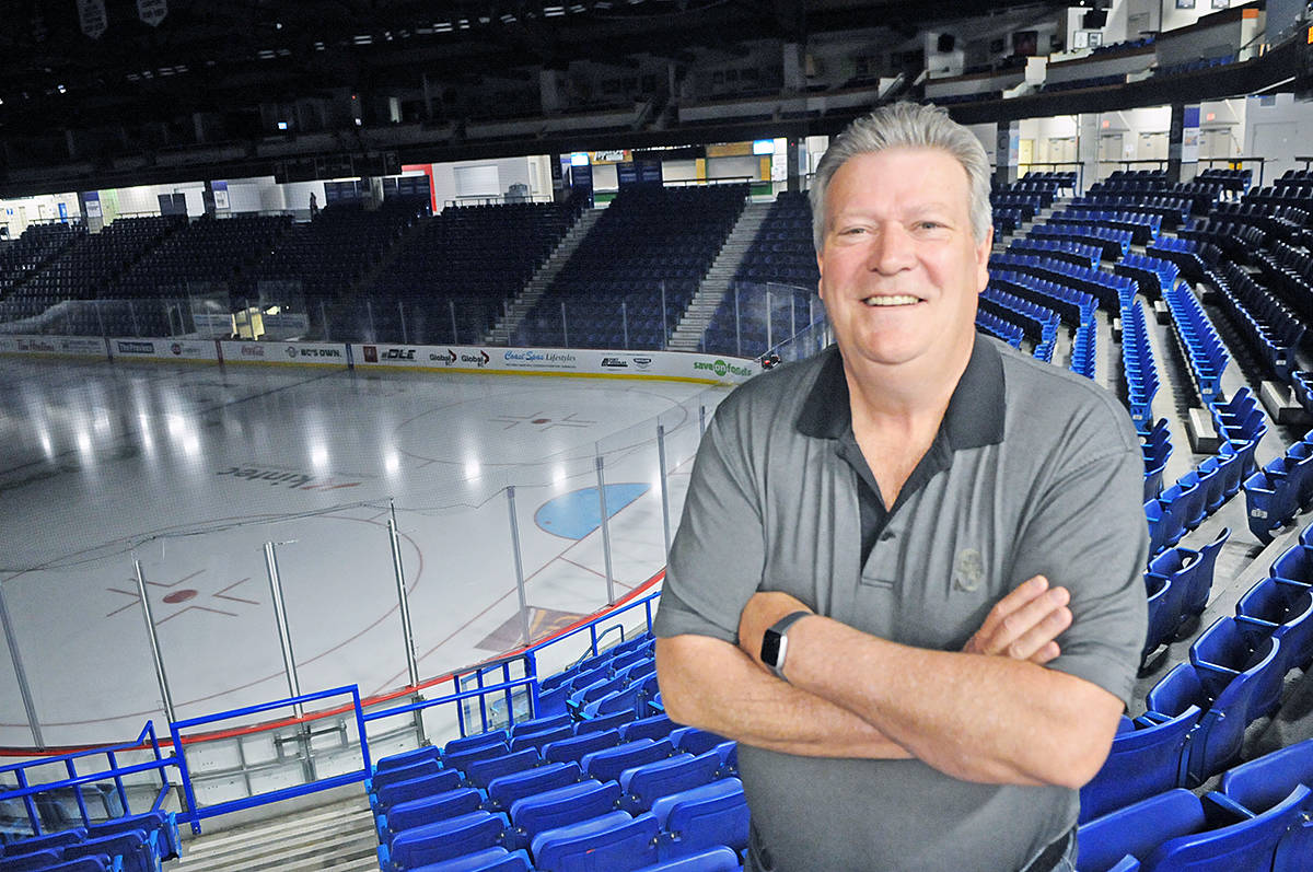 Rich Coleman's office is at the Langley Events Centre, the civic facility that he helped get off the ground by convincing the province to write a cheque for $15 million (Dan Ferguson/Langley Advance Times)