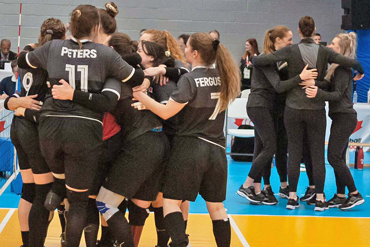 Langley's Ellis leads Team Canada to gold in sitting volleyball