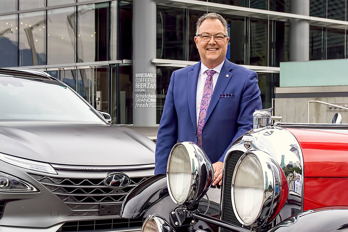 Blair Qualey, president and CEO of the New Car Dealers Association of BC. (Chung Chow/special to Langley Advance Times)