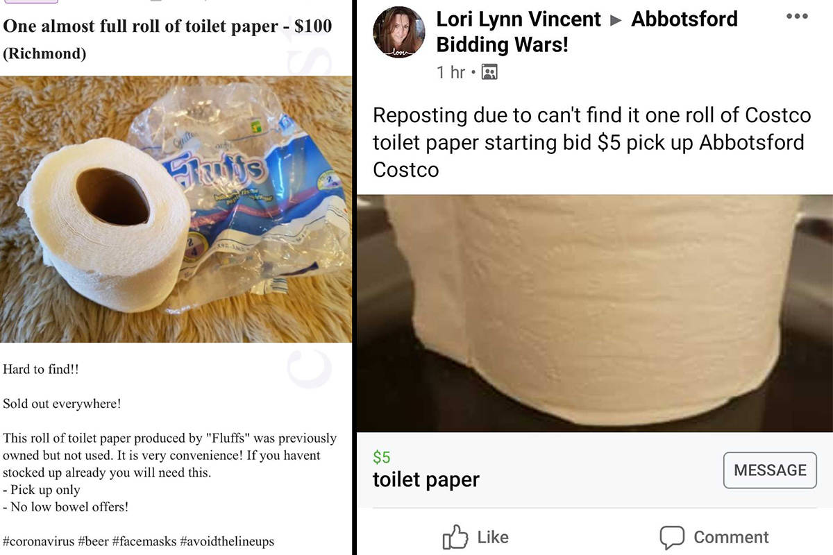 Toilet paper roll selling for $100 on Craigslist as people capitalize on COVID-19 fears