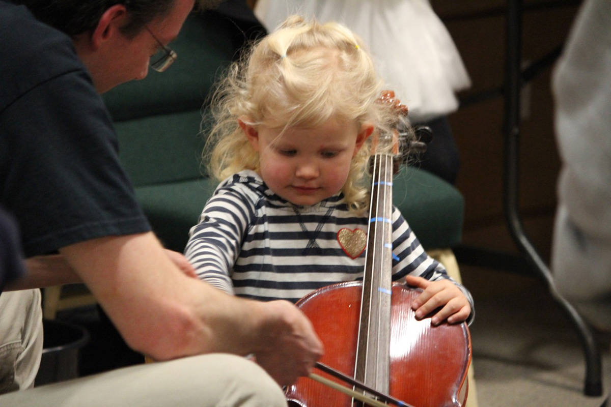 Langley Community Music School hosts a family intro to music night. (LCMS/Special to the Langley Advance Times)