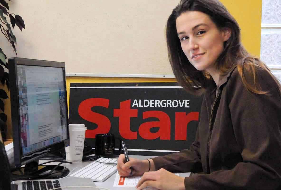 VIDEO: Black Press Media editor Sarah Grochowski up for an Emmy Award