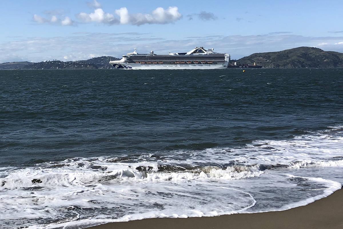 A Princess cruise ship departing San Francisco. (Liji Jinaraj/Flickr photo)