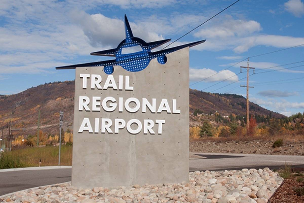 The TSB has released its finding related to a runway incursion at the Trail airport back in December 2018. (City of Trail photo)