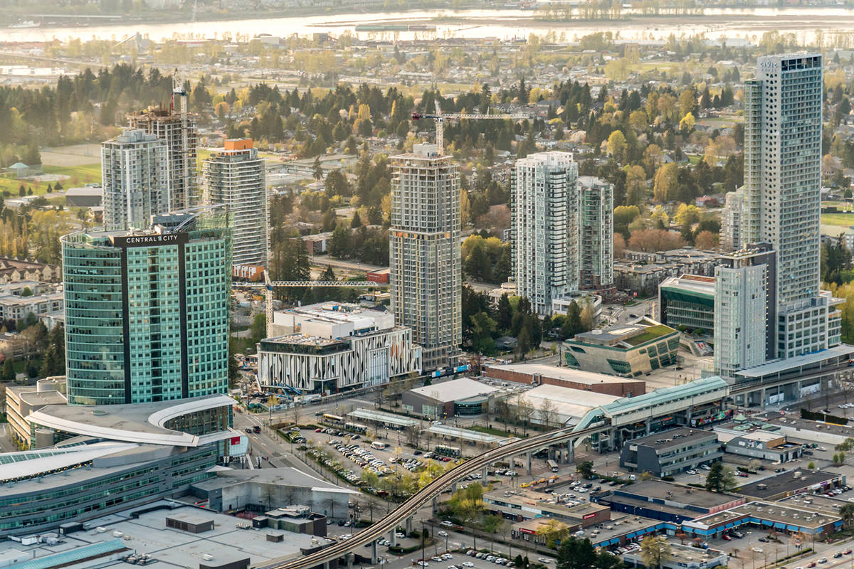 Surrey City Centre is the subject of a Home Buying 101 Forum hosted by Homebuilders Association Vancouver and BC Housing on March 24, 2020.(City of Surrey)