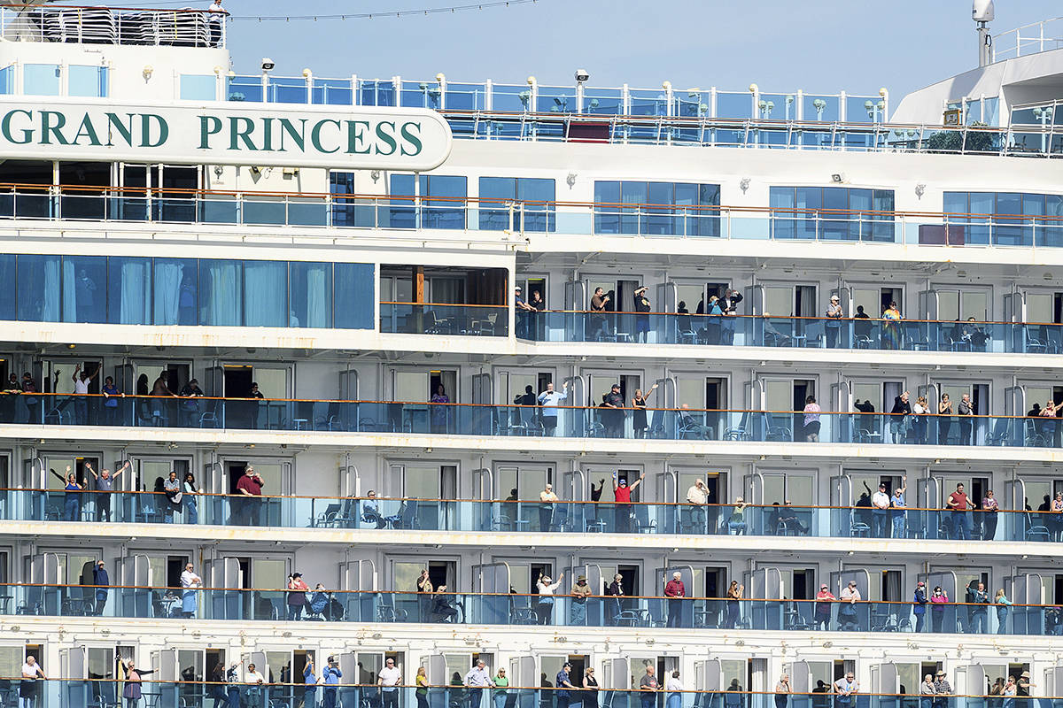 COVID-19 stricken Grand Princess still scheduled to dock in Vancouver this April: port