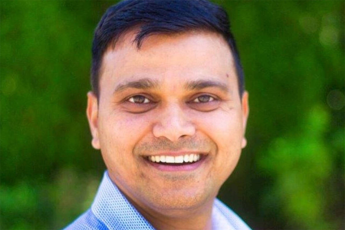 Sanjay Amrutkar of Chilliwack is now charged with six counts of sexual assault while working as a physiotherapist in 2019. (LinkedIn)
