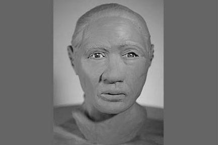 Mounties are looking to identify this man, pictured in a 3-D reconstruction, whose body was found in North Burnaby in 2019. (RCMP)