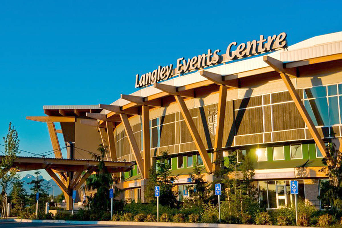 Langley Events Centre will continue to host fans for Giants games, despite a Washington State move to keep fans away due to COVID-19 concerns (file)